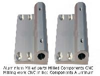 Aluminium CNC milled  Parts Components